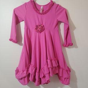 Mulberribush Love U Lots Cotton spandex Dress